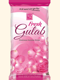 Fresh Gulab Incense Sticks